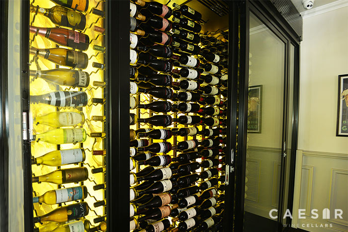 Super Commercial Wine Cellars Modern Wine Wall Caesar Wine Cellars Interior Design Ideas Tzicisoteloinfo