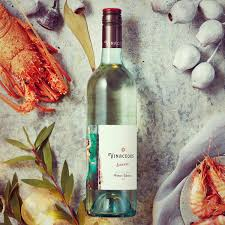 Festive Wine amongst different foods